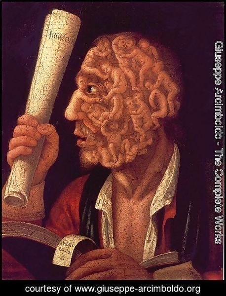 Giuseppe Arcimboldo - Portrait of Adam