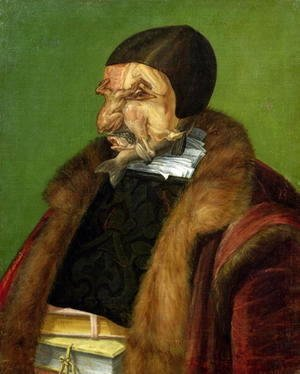 Giuseppe Arcimboldo - The Jurist 1566