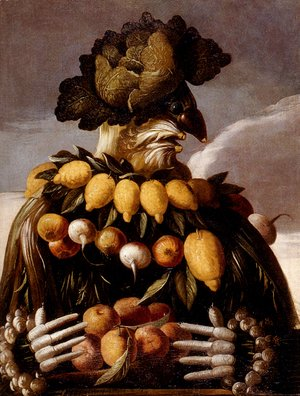 Giuseppe Arcimboldo - The Seasons Pic 1