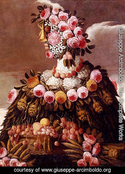 Giuseppe Arcimboldo - The Seasons Pic 2