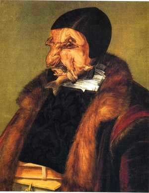 Giuseppe Arcimboldo - The Lawyer