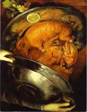 Giuseppe Arcimboldo - The Cook 2