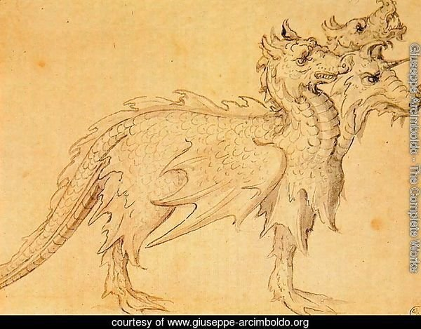 Design of a dragon costume for horse
