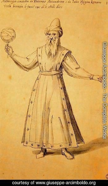 Design of a dress for Astrology