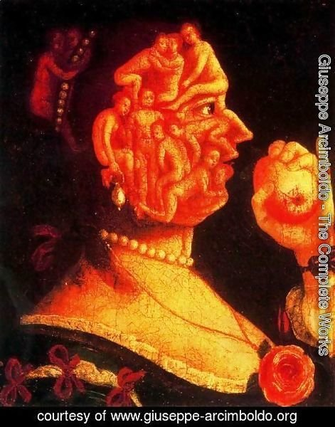 Giuseppe Arcimboldo - Eve with the apple
