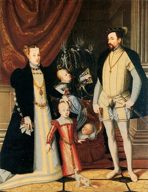 Giuseppe Arcimboldo - Maximilian II and His Family