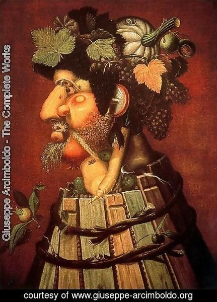 Giuseppe Arcimboldo - The Autumn