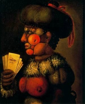 Giuseppe Arcimboldo - The Lady of Good Taste