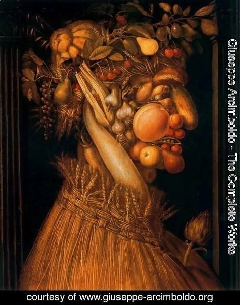 Giuseppe Arcimboldo - The Summer
