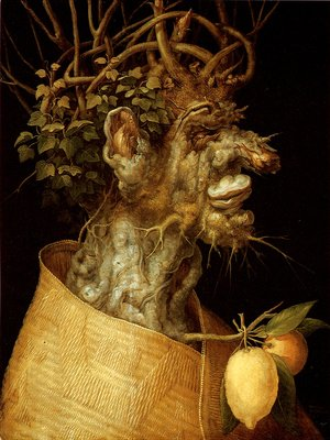 Giuseppe Arcimboldo - The Winter