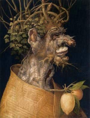 Giuseppe Arcimboldo - The Winter 3