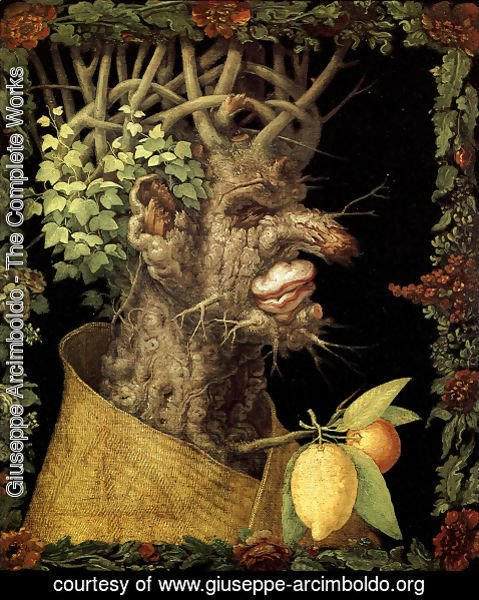 Giuseppe Arcimboldo - The Winter 4