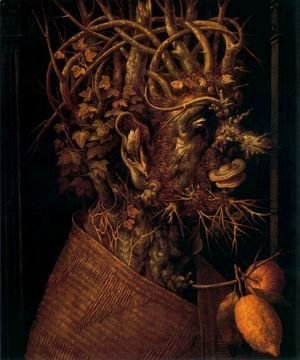 Giuseppe Arcimboldo - The Winter 5