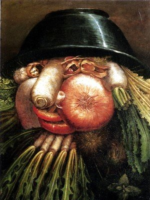 Giuseppe Arcimboldo - Vegetables