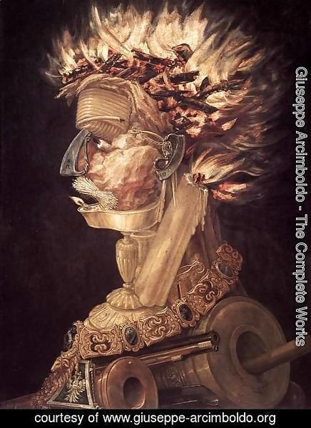 Giuseppe Arcimboldo - The Fire 1566