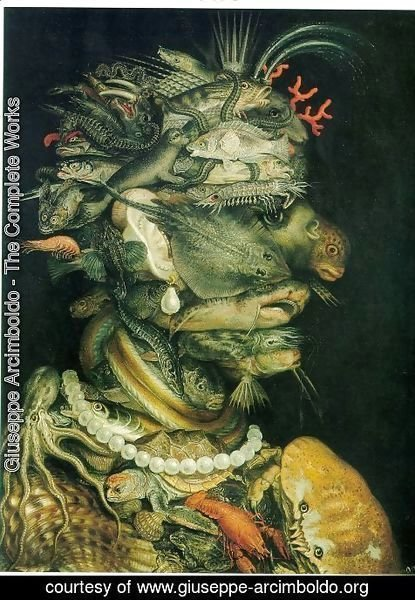 Giuseppe Arcimboldo - The Water The Water 1563-64