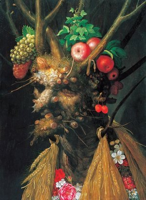 Giuseppe Arcimboldo - The Four Seasons in One Head