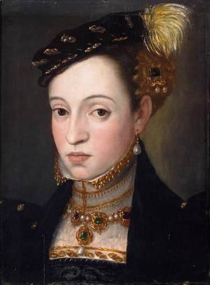 Giuseppe Arcimboldo - Bust of a Daughter of Ferdinand I