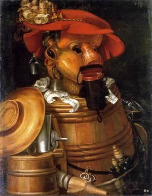 Giuseppe Arcimboldo - The Waiter